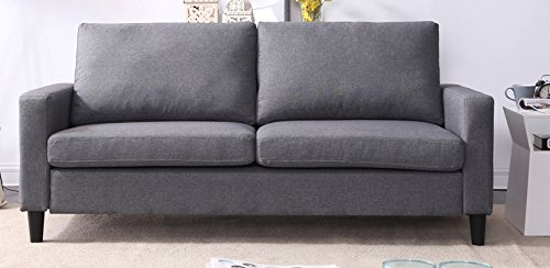 NHI Express 71029-63GY Track Arm Sofa Not Applicable, Gray