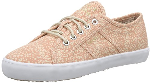 ESPRIT Damen Italia Lace Up Sneakers Pink (860 salmon)
