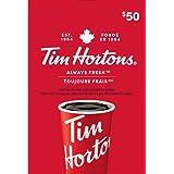 Tim Hortons Gift Card $50