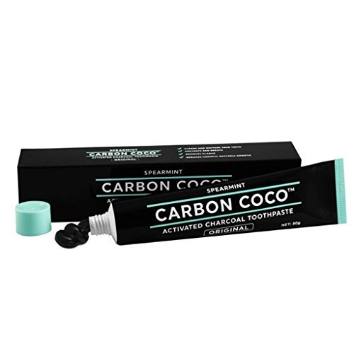 Tooth Carbon - Carbon Coco activated charcoal toothpaste spearmint 80g
