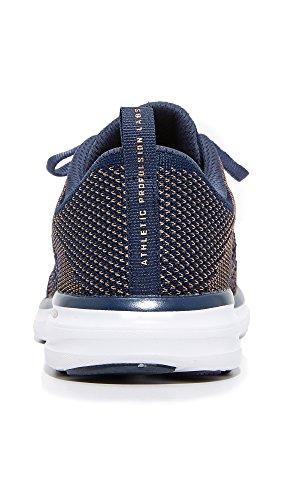 Apl: Laboratoires De Propulsion Athlétiques Femmes Techloom Pro Sneakers Midnight / Rose Gold