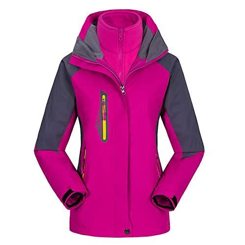 - Uinta Outerwear Mountain Ski Jacket | Best Women's Coat for Waterproof, Windproof, Two-Layer Warmth in Snow or Rain (Pink, XXL)