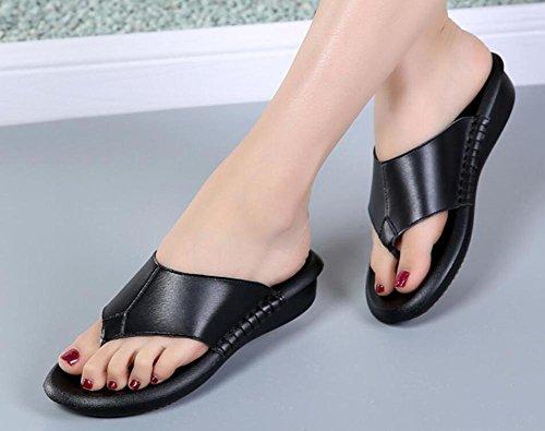 Sandalias gruesas de las sandalias del sandalias de los zapatos de la playa de la arena de la nueva de los zapatos de los flip flops del verano 2017 2