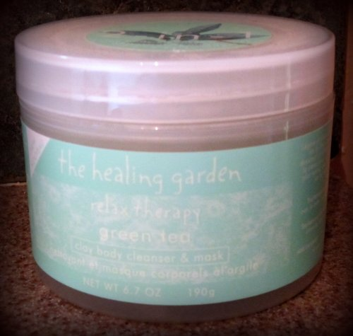 The Healing Garden Relax Therapy - 2 in 1 - Green TEA DAY Body Cleaner & Mask