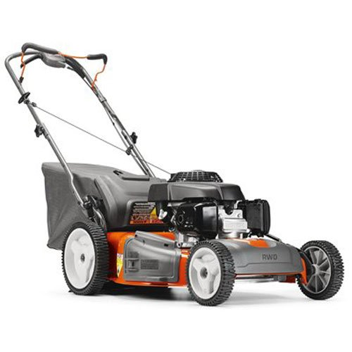 (Husqvarna 961450023 HU700H Honda 160cc 3-in-1 Rear Wheel Drive Hi-Wheel Mower in 22-Inch Deck)