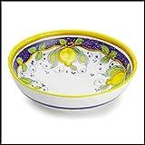 Arte D'Italia Imports Hand Painted Alcantara Serving Bowl - Handmade in Deruta