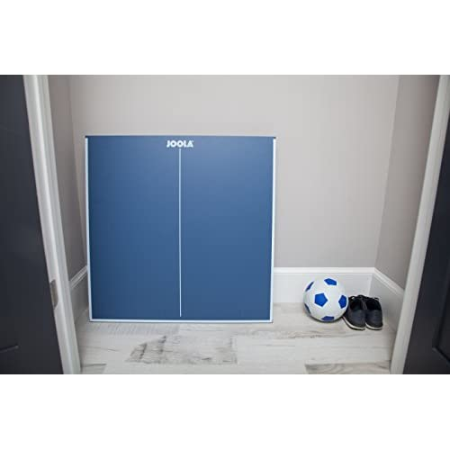 7230d3e3be6 outlet JOOLA Midsize Compact Table Tennis Table Great for Small Spaces and  Apartments – Multi-Use Free Standing Table - Compact Storage Fits in Most  Closets ...