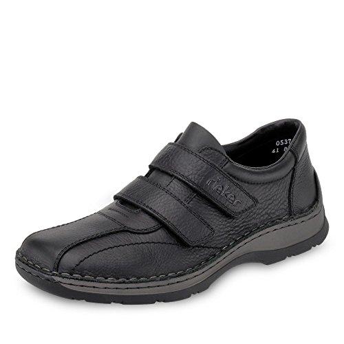 Losco-scarpe In Pelle Rieker Uomo Nero