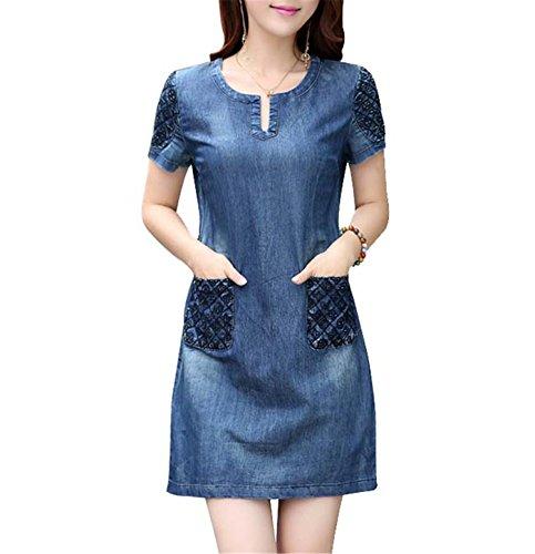 maxi dress and jean jacket pinterest - 1