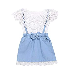 Hopscotch Baby Girl's Empire Midi...
