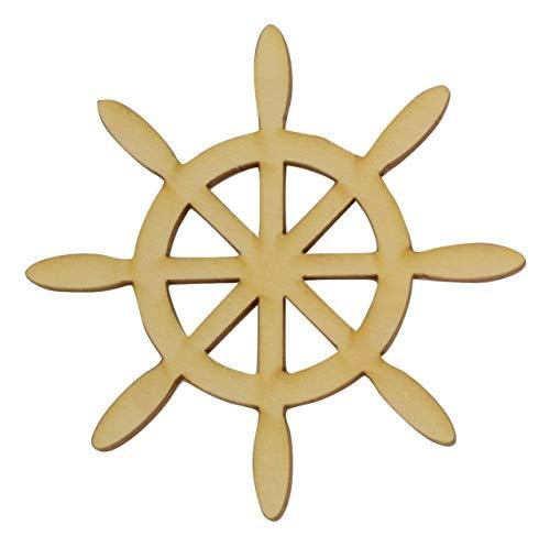 Wooden Ships Wheel Cutout 3.55