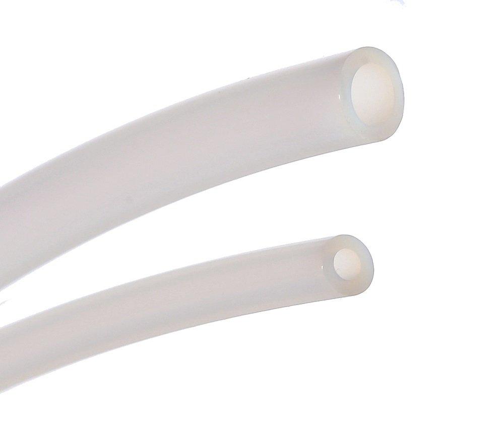 Tubo de teflón PTFE de 0,63 m, 4 mm ID x 6 mm OD para ...