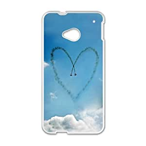 Custom Case Girly Hearts For HTC One M7 Q3V932308