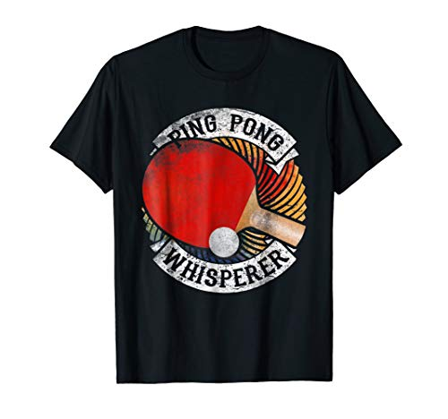 Ping Pong Paddle Balls Master Funny Red Gifts Tee T Shirt (The Best Ping Pong Paddles)