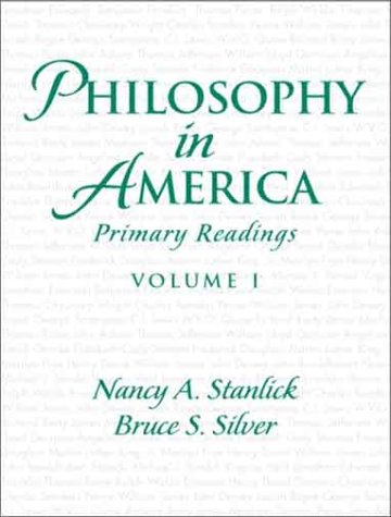 Philosophy in America, Volume 1