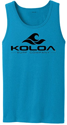 55b98fe703b8a Koloa Surf Classic Wave Logo Tank Tops in 27 Colors. Adult Sizes  S-