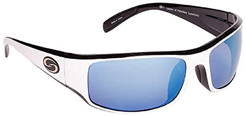 Buy mens sunglasses white polarized