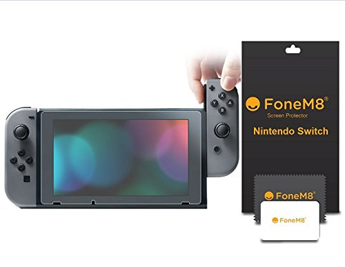 promo code ac7a9 6793c FoneM8® - 2 Pack HD Clear Film Screen Protector For Nintendo Switch ...