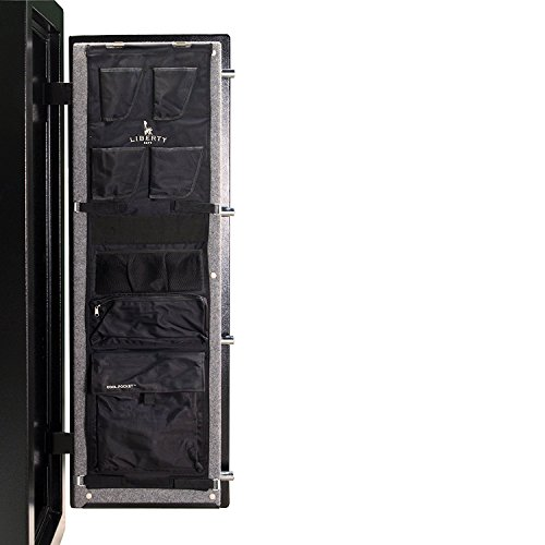 Door Security Cabinet - Liberty Safe Gun Safe Door Panel Organizer for Holding Pistols and Important Documents (Size 17-18)
