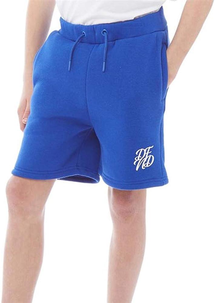 DFND London/ Boys Brushback Fleece Shorts Two Front Pockets Age 6-16