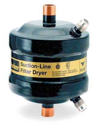Suction Line Filter/Dryer, 3/4 Sweat I.D.