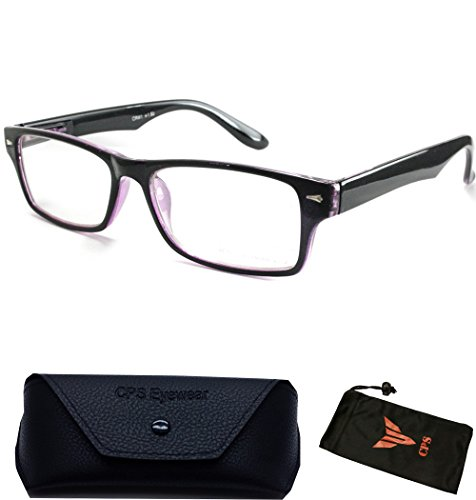 Women Men Designer Fashion Reading Glasses Square Medium Prad Reader Wayfarers - Rare Bans Ray