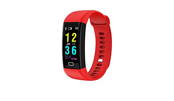 Amazon.com: Star_wuvi IP68 Color Screen Blood Pressure/Heart Rate Monitor Smart Bracelet Watch: Cell Phones & Accessories