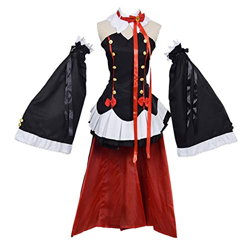PartyCos Krul Tepes Cosplay Costume Halloween Masquerade Vampires Costumes Women Anime Lolita Dress Up -