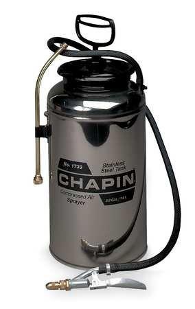 Handheld Sprayer, 2 gal., Stainless Steel ()