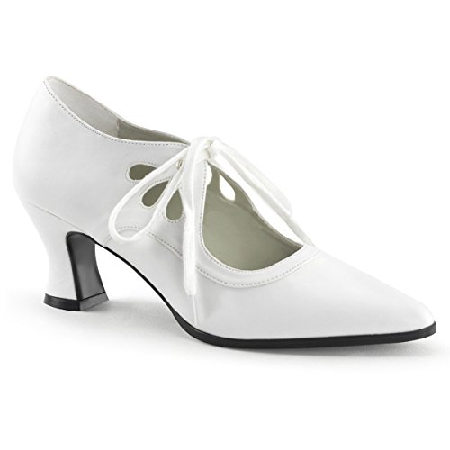 Scarpe Da Donna Funtasma Vittoriano-03 In Poliuretano Bianco
