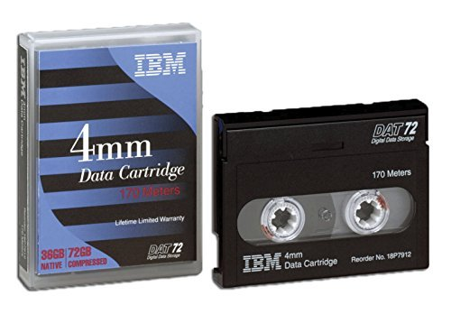 IBM - 4mm DAT72/DDS-5 Data Tape (IBM 18P7912 - 170m 36/72GB)