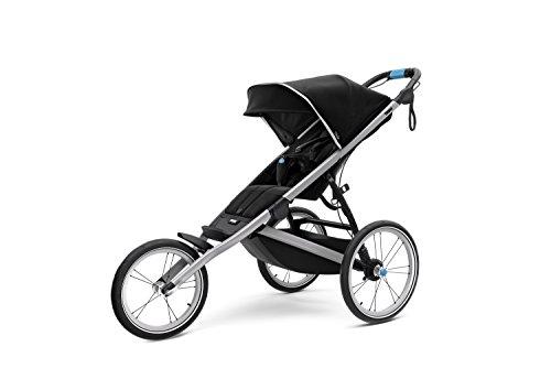 Thule Glide 2.0 Performance Jogging Stroller (Black w/Silver Frame)