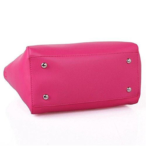 Designer Cuckoo 345 Designer Pink Red Red Handbag London London Cuckoo Handbag Hot fdxPYC7