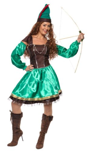 - Smiffys Robyn Hood Female Costume, Dress And Hat (Small)