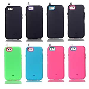 DUR Robot Three in One Pattern Silicone Cover for iPhone 6
