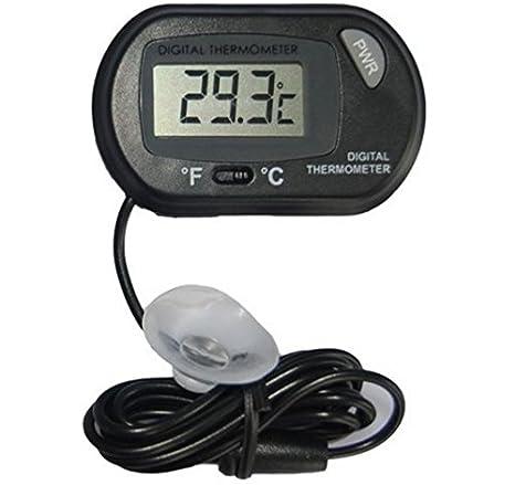 Foopp - Termómetro Digital para Acuario, pecera, Acuario, Acuario, Acuario, Acuario