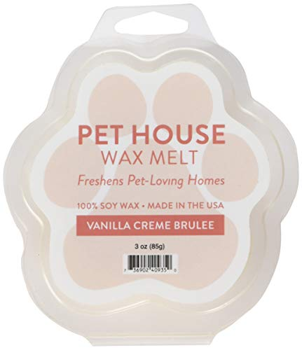 One Fur All Pet House Wax Melts, Pack of 2 – Long Lasting Pet Odor Eliminating Wax Melts, 100% Natural Soy Wax Melts, Non-Toxic Pet Wax Melts, Dye-Free Unique, Made in USA