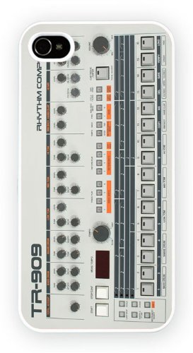 Roland TR-909, iPhone 5C, Etui de téléphone mobile - encre brillant impression