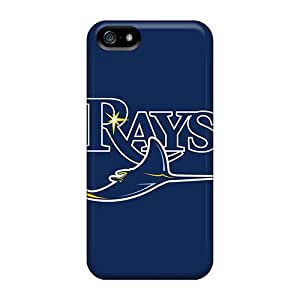 Ideal STrahan Case Cover For Iphone 5/5s(baseball Tampa Bay Rays), Protective Stylish Case