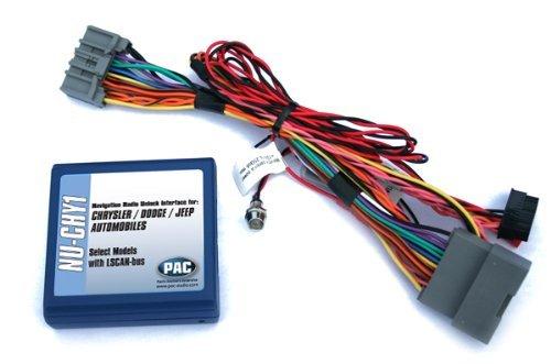 PAC NU-CHY1 Chrysler/Dodge/Jeep Navigation Unlock Integration Interface