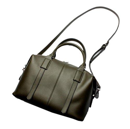 Bolso Femenino - Bolso De Cuero De Moda Europa Y Estados Unidos Bolso Messenger Messenger Bag Green
