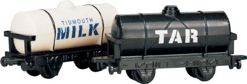 Milk Train - Thomas the Tank Engine Shining Time Station Milk & Tar Wagons [Toy]