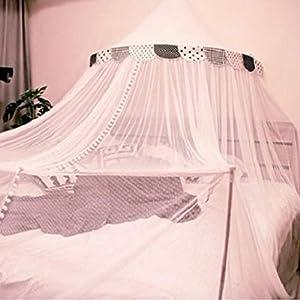 Bulawlly Letto a baldacchino di zanzara della Rete della Maglia Leggera, Chiffon mosqutio Net, Baby Coperta Letto per… 6 spesavip