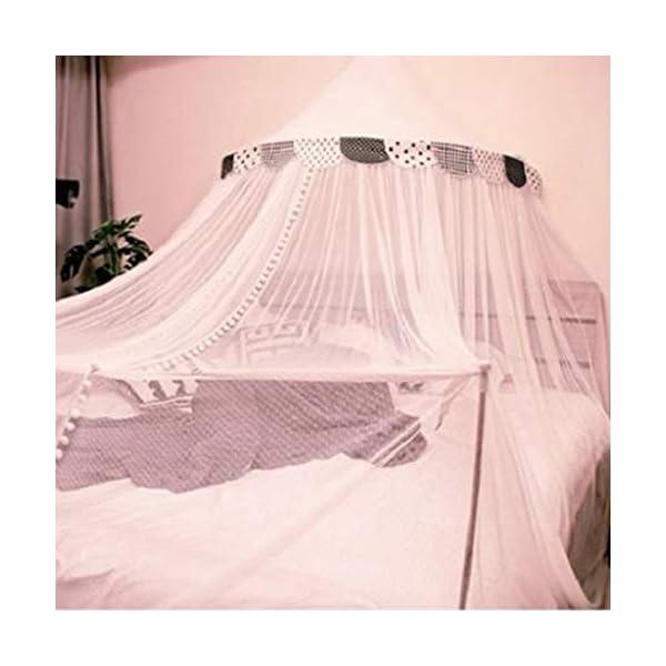 Bulawlly Letto a baldacchino di zanzara della Rete della Maglia Leggera, Chiffon mosqutio Net, Baby Coperta Letto per… 1 spesavip