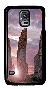 original Samsung Galaxy S5 case Three Stone PC Black Custom Samsung Galaxy S5 Case Cover
