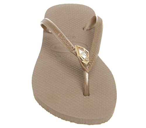 Flop Gold 3 rose Flip 3 2 Women's Gold Size Epic Havaianas 2 Slim Rubber Rose qwZBzX