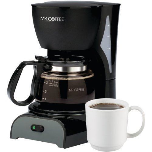 (Sunbeam  Mr Coffee Coffeemaker 4 cup ,Black)