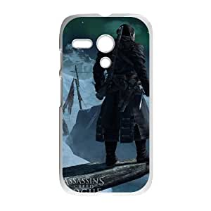 HD Beautiful image for Motorola G Cell Phone Case White assassins creed rogue game HOR3841906