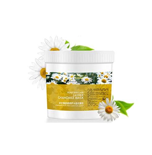 Mask Impurity Skin (Jeeke Depth Replenishm Moisturizing Mask Powder Pore Cleansing Removes Skin Impurities Tightening Whitening Moisturizes & Firms Up Skin for Girls Women (Chamomile))
