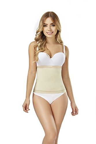 35260cfd0bcd3 Body Shaper Waist Cincher with Side-Flexible Boning Tabletop Flat Stomach  Faja at Amazon Women s Clothing store
